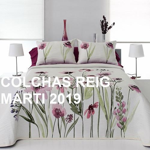 CATALOGO COLCHAS REIG MARTI 2019