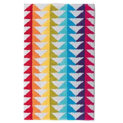 Alfombra de Baño BLOCK, de Sorema. Multicolor Alf.Baño 60x100