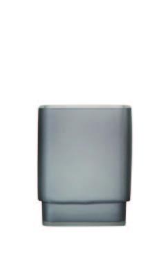 Accesorios de baño FROST de Sorema Gris VASO