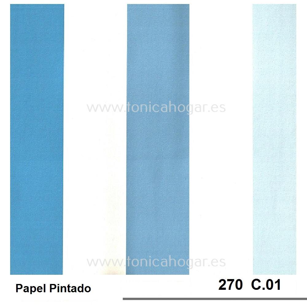 Papel 270 de Scenes Azul Papel Pintado 53