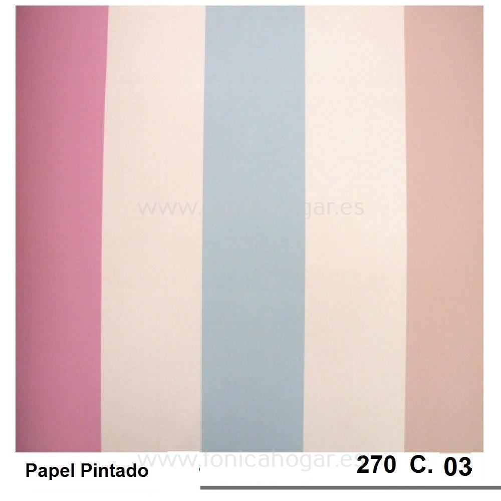 Papel 270 de Scenes Rosa Papel Pintado 53
