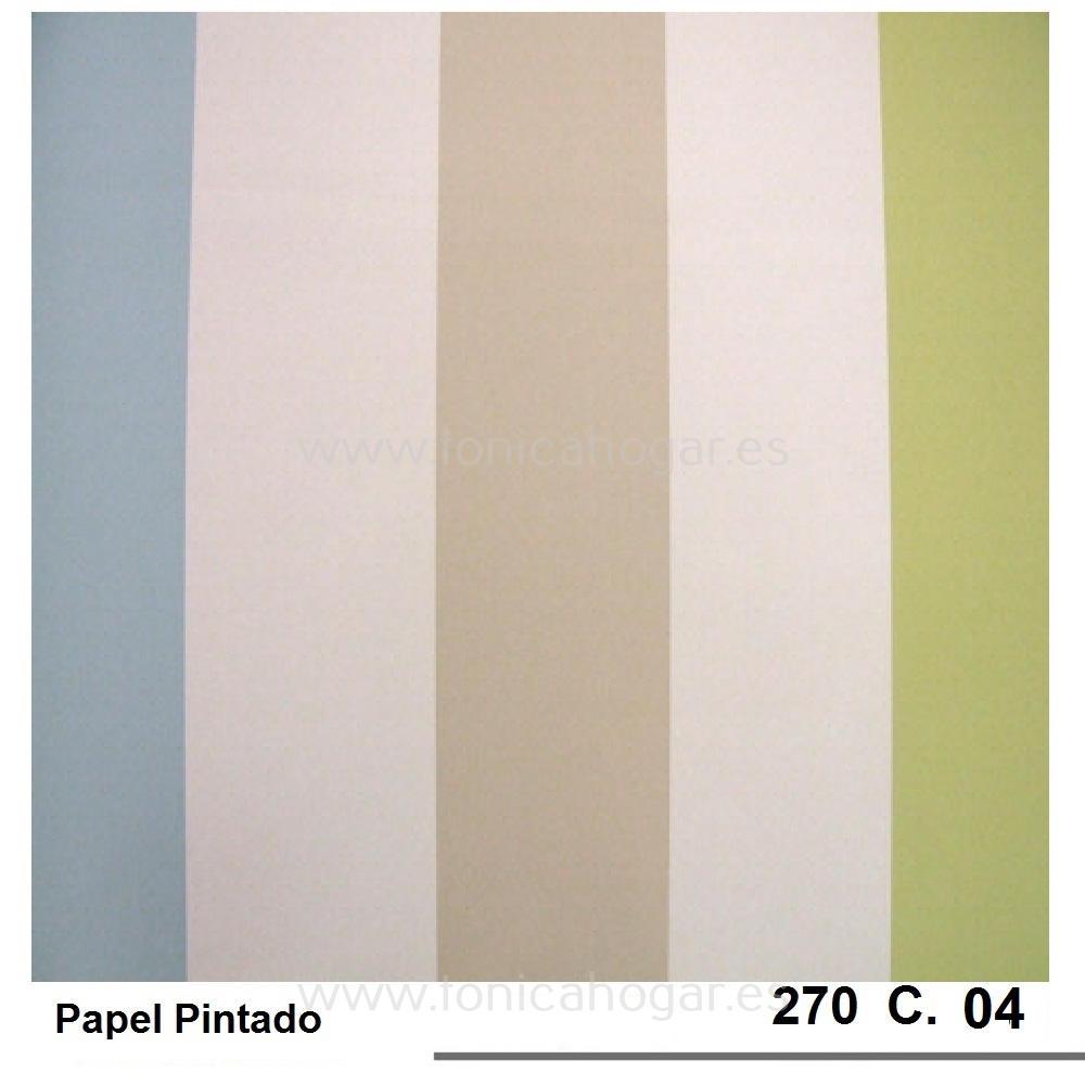 Papel 270 de Scenes Verde Papel Pintado 53
