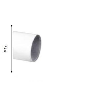 BARRA VARADERO BLANCO de ALTRAN Blanco Diámetro 19 mm Medida Barra 150