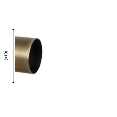 BARRA VARADERO CUERO MATE de ALTRAN Cuero Mate Diámetro 19 mm Medida Barra 150