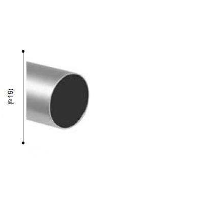 BARRA VARADERO PLATA MATE de ALTRAN Plata Mate Diámetro 19 mm Medida Barra 150