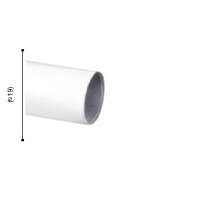 BARRA VARADERO BLANCO de ALTRAN Blanco Diámetro 19 mm Medida Barra 200