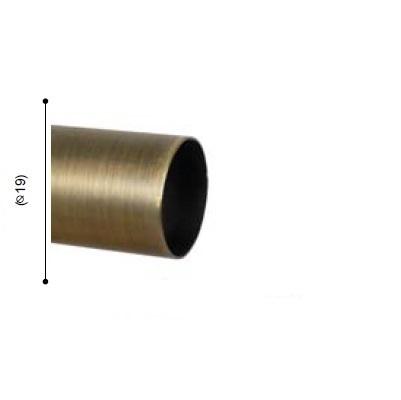 BARRA VARADERO CUERO MATE de ALTRAN Cuero Mate Diámetro 19 mm Medida Barra 200