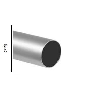 BARRA VARADERO PLATA MATE de ALTRAN Plata Mate Diámetro 19 mm Medida Barra 200