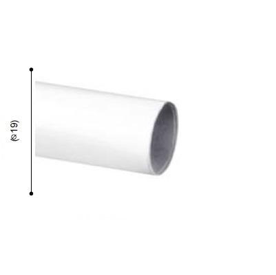 BARRA VARADERO BLANCO de ALTRAN Blanco Diámetro 19 mm Medida Barra 250