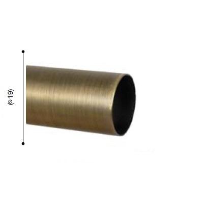 BARRA VARADERO CUERO MATE de ALTRAN Cuero Mate Diámetro 19 mm Medida Barra 250
