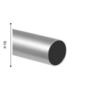 BARRA VARADERO PLATA MATE de ALTRAN Plata Mate Diámetro 19 mm Medida Barra 250
