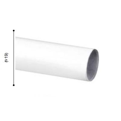 BARRA VARADERO BLANCO de ALTRAN Blanco Diámetro 19 mm Medida Barra 300