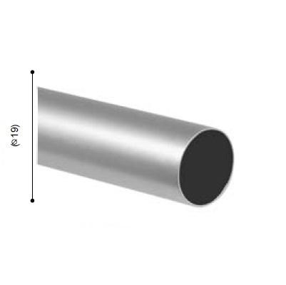 BARRA VARADERO PLATA MATE de ALTRAN Plata Mate Diámetro 19 mm Medida Barra 300