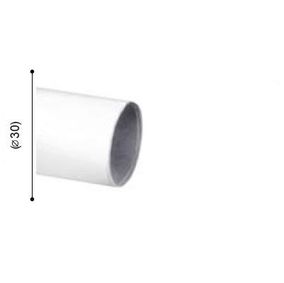 BARRA VARADERO BLANCO de ALTRAN Blanco Díámetro 30 mm Medida Barra 150