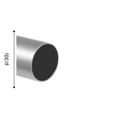 BARRA VARADERO PLATA MATE de ALTRAN Plata Mate Díámetro 30 mm Medida Barra 150