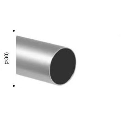 BARRA VARADERO PLATA MATE de ALTRAN Plata Mate Díámetro 30 mm Medida Barra 200
