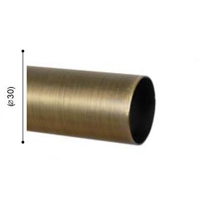 BARRA VARADERO CUERO MATE de ALTRAN Cuero Mate Díámetro 30 mm Medida Barra 250