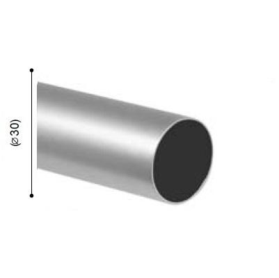 BARRA VARADERO PLATA MATE de ALTRAN Plata Mate Díámetro 30 mm Medida Barra 250