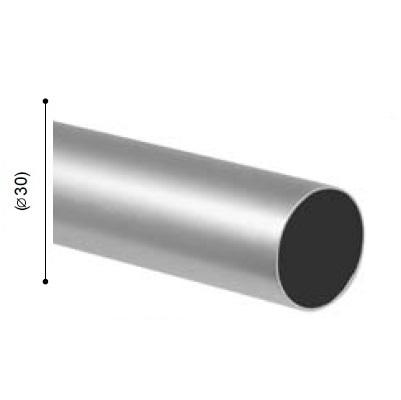 BARRA VARADERO PLATA MATE de ALTRAN Plata Mate Díámetro 30 mm Medida Barra 300