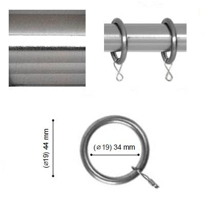 ANILLA VARADERO de ALTRAN Acero Diámetro 19 mm