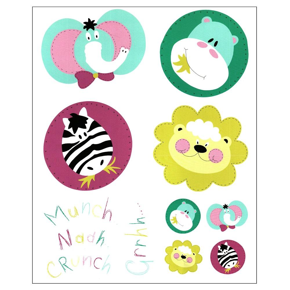 Adhesivos Infantil A09 de Scenes. Multicolor Adhesivo 75x100