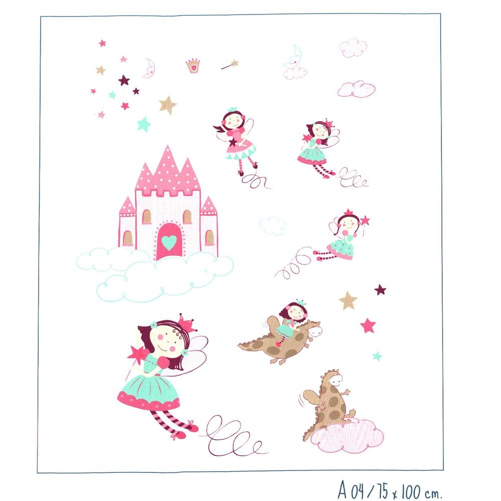 Adhesivos Infantil A4 de Scenes. Multicolor Adhesivo 75x100
