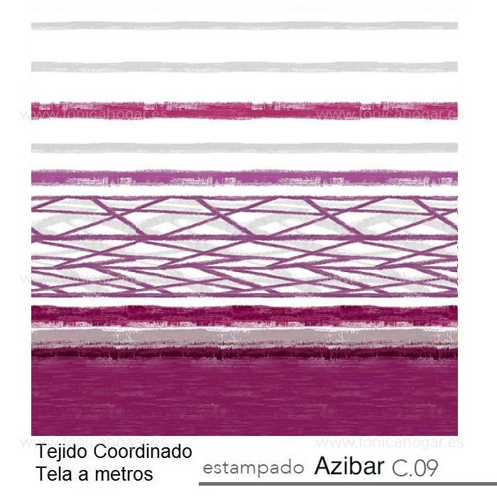 Tejido AZIBAR MT de Reig Marti Morado Tela Alto 280