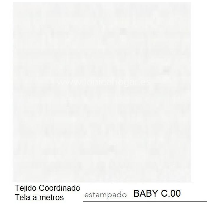 Tejido BABY MT de Reig Marti Blanco Tela Alto 280
