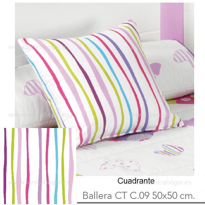 Cojín BALLERA CT Multicolor de Reig Marti Multicolor Cojín 50x50