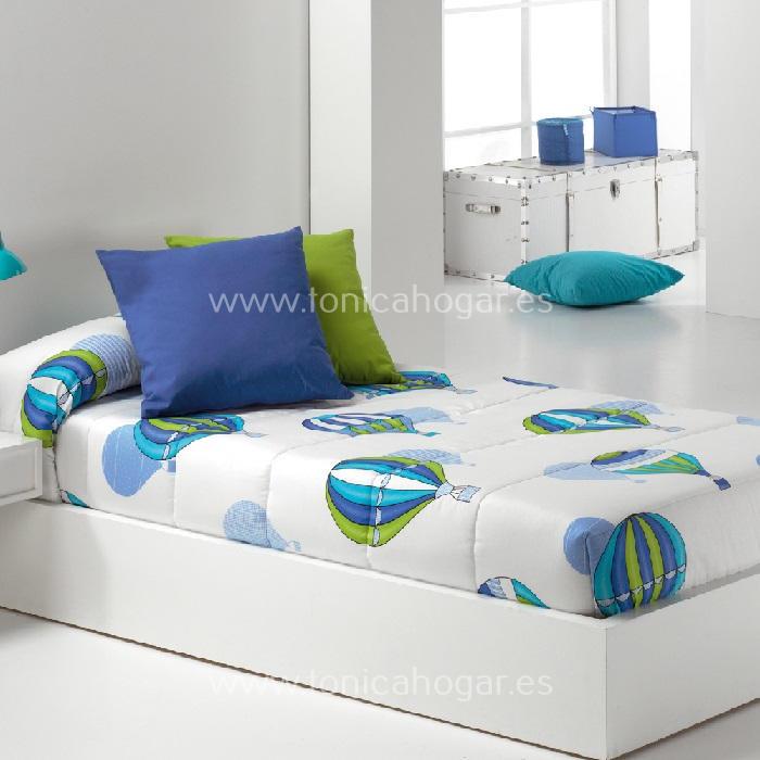 Edredón Ajustable BALLOON AG Azul de Reig Marti Azul 090 Azul 105