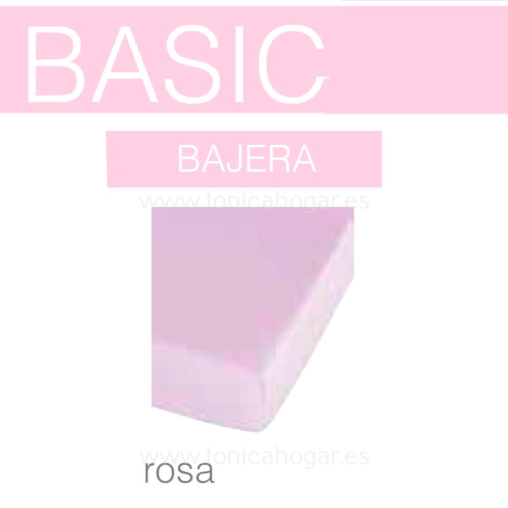Sabana Bajera BASIC de SANSA Rosa BASIC Sabana Bajera 090x190/200 Rosa BASIC Sabana Bajera 105x190/200 Rosa BASIC Sabana Bajera 135x190/200 Rosa BASIC Sabana Bajera 150x190/200 Rosa BASIC Sabana Bajera 160x190/200 Rosa BASIC Sabana Bajera 180x190/200