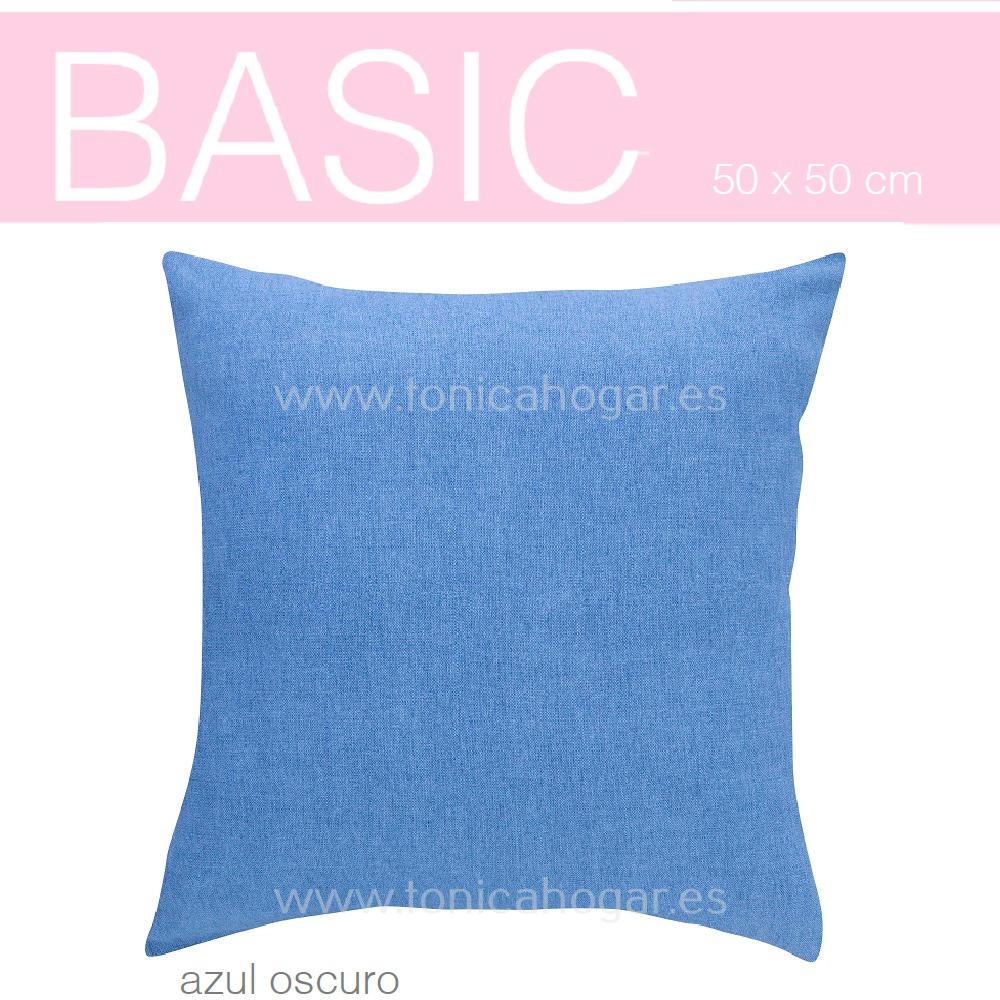 Funda Cojín BASIC de SANSA Azul BASIC Funda Cojín 50x50