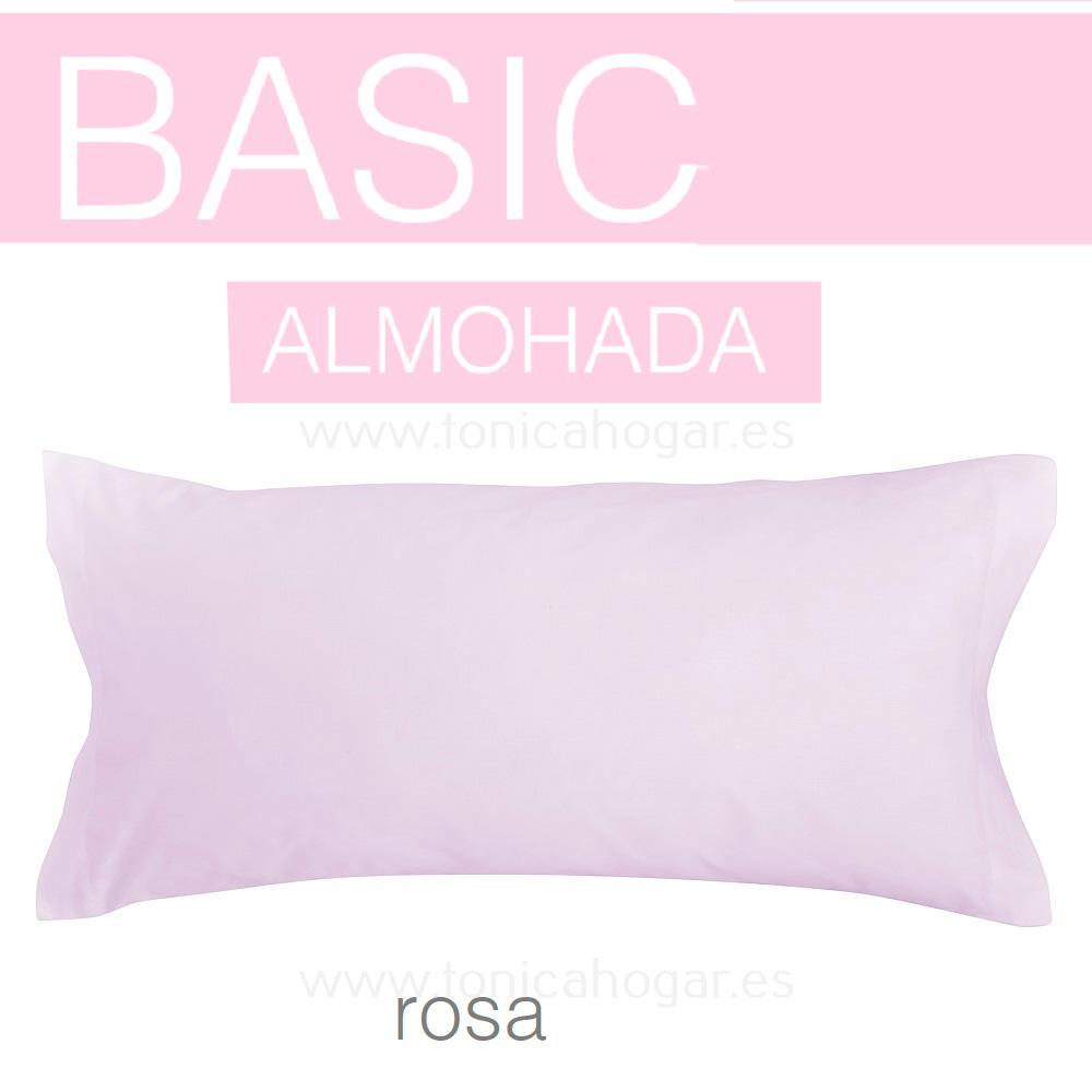 Funda Almohada BASIC de SANSA Rosa BASIC Funda Almohada 090 Rosa BASIC Funda Almohada 105 Rosa BASIC Funda Almohada 135 Rosa BASIC Funda Almohada 150 Rosa BASIC 2 Fundas Almohadas 070 (2 de 45x75)