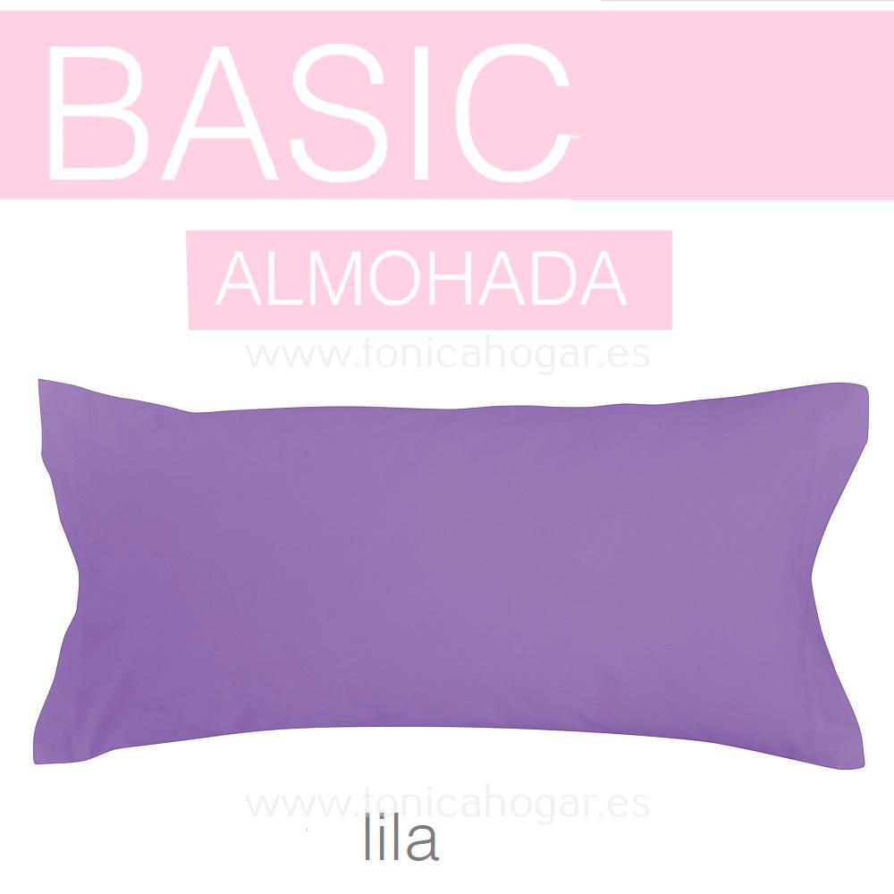 Funda Almohada BASIC de SANSA Lila BASIC Funda Almohada 090 Lila BASIC Funda Almohada 105 Lila BASIC Funda Almohada 135 Lila BASIC Funda Almohada 150 Lila BASIC 2 Fundas Almohadas 070 (2 de 45x75)