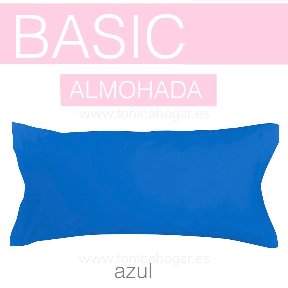 Funda Almohada BASIC de SANSA Azul BASIC Funda Almohada 090 Azul BASIC Funda Almohada 105 Azul BASIC Funda Almohada 135 Azul BASIC Funda Almohada 150 Azul BASIC 2 Fundas Almohadas 070 (2 de 45x75)