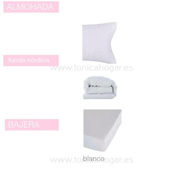 Juego Funda Nórdica BASIC de SANSA Blanco BASIC 090 105 Blanco BASIC Blanco BASIC 135 Blanco BASIC 150 Blanco BASIC 160 Blanco BASIC 180 Blanco BASIC 200