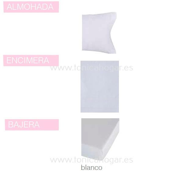 Juego Sabanas BASIC de SANSA Blanco BASIC 090 Blanco BASIC 105 135 Blanco BASIC 150 Blanco BASIC Blanco BASIC 160 Blanco BASIC 180