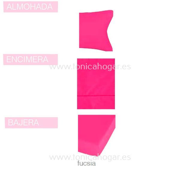 Juego Sabanas BASIC de SANSA Fucsia BASIC 090 Fucsia BASIC 105 Fucsia BASIC 135 Fucsia BASIC 150 Fucsia BASIC 160 Fucsia BASIC 180