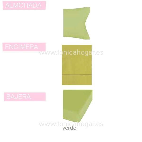 Juego Sabanas BASIC de SANSA Verde BASIC 090 Verde BASIC 105 Verde BASIC 135 Verde BASIC 150 Verde BASIC 160 Verde BASIC 180