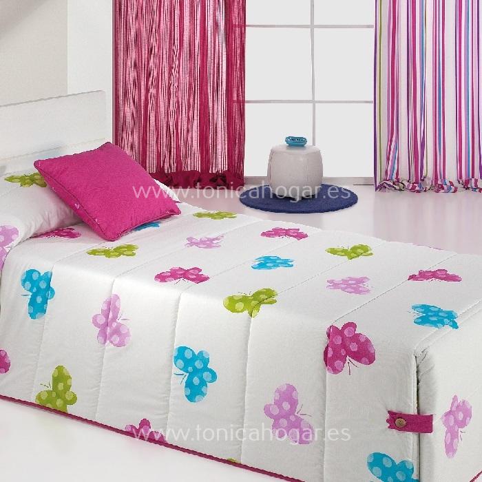 Edredón Conforter BUTTERFLY 02 Multicolor de Reig Marti Multicolor 090 Multicolor 105