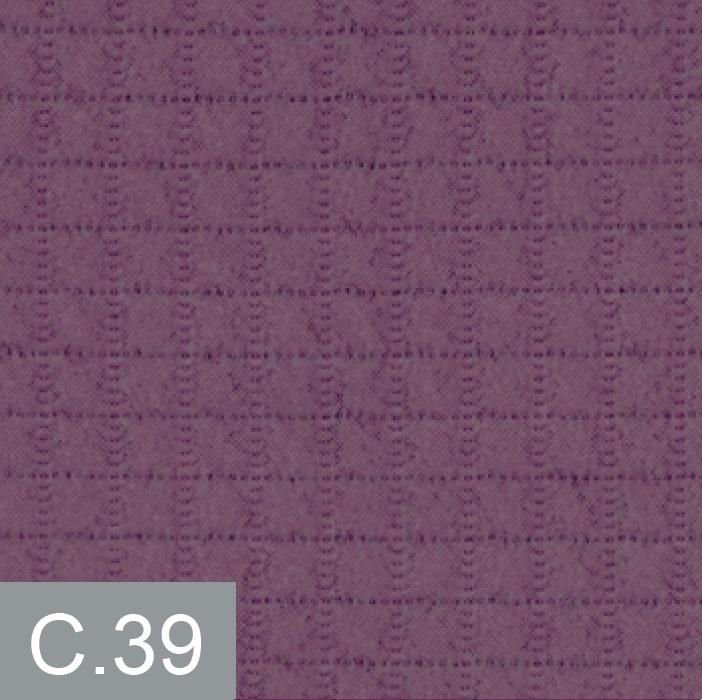 Cuadrante con relleno Barli Reig Marti Malva Cojín 30x50 Malva Cojín 42x42