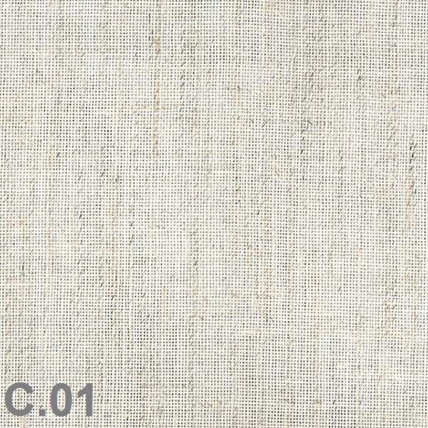 Metraje visillo liso color Belocolor Reig Marti Crudo Tela Alto 300
