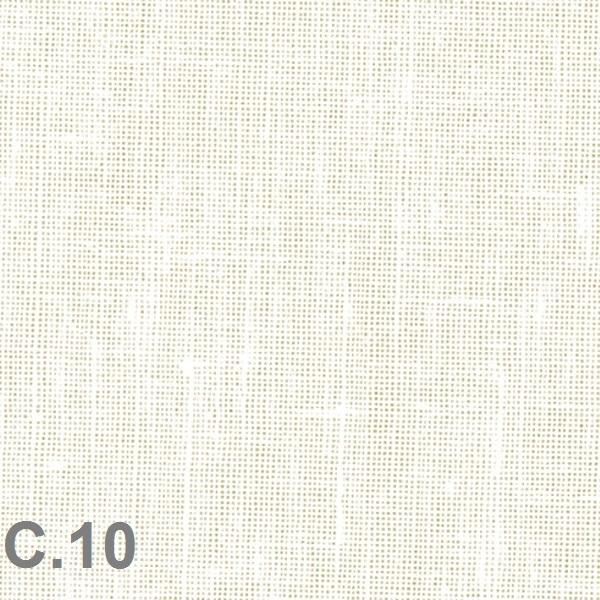 Metraje visillo liso color Belocolor Reig Marti Blanco Tela Alto 300