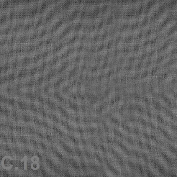 Metraje visillo liso color Belocolor Reig Marti Gris Tela Alto 300