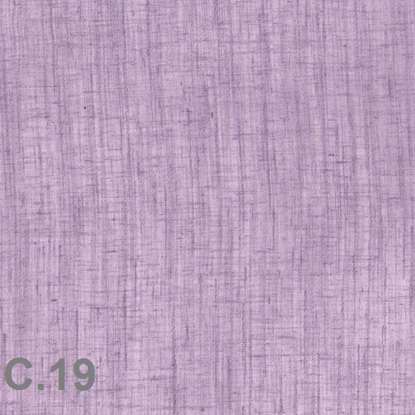 Metraje visillo liso color Belocolor Reig Marti Malva Tela Alto 300