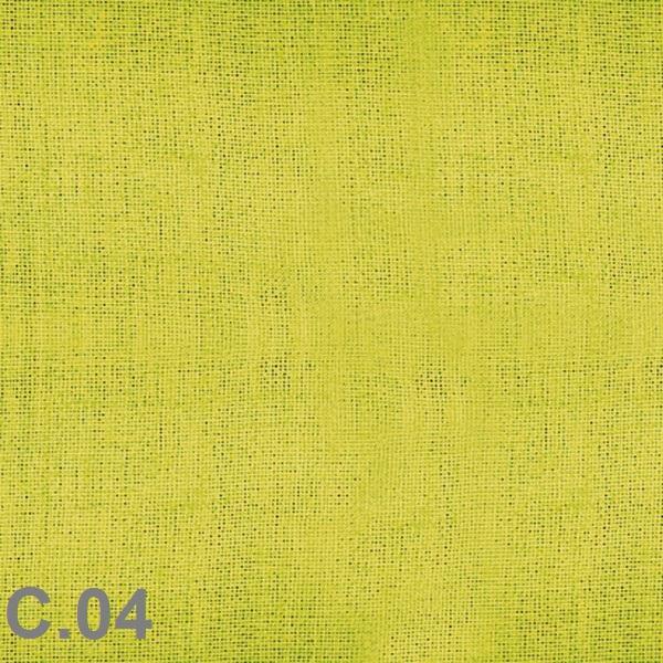 Metraje visillo liso color Belocolor Reig Marti Aloe Tela Alto 300
