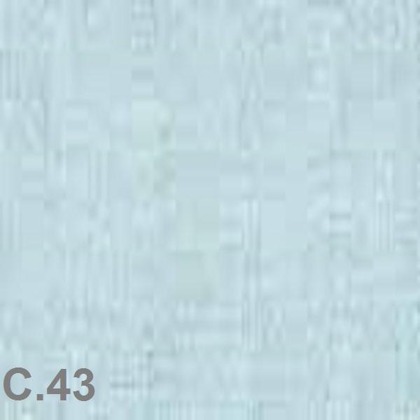 Metraje visillo liso color Belocolor Reig Marti Aguamarina Tela Alto 300