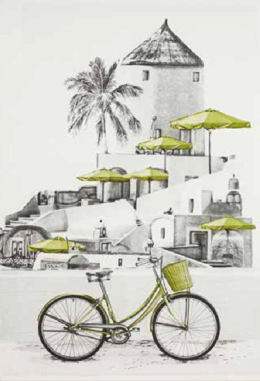 Boutie Bicicleta de EDREXA Verde 150