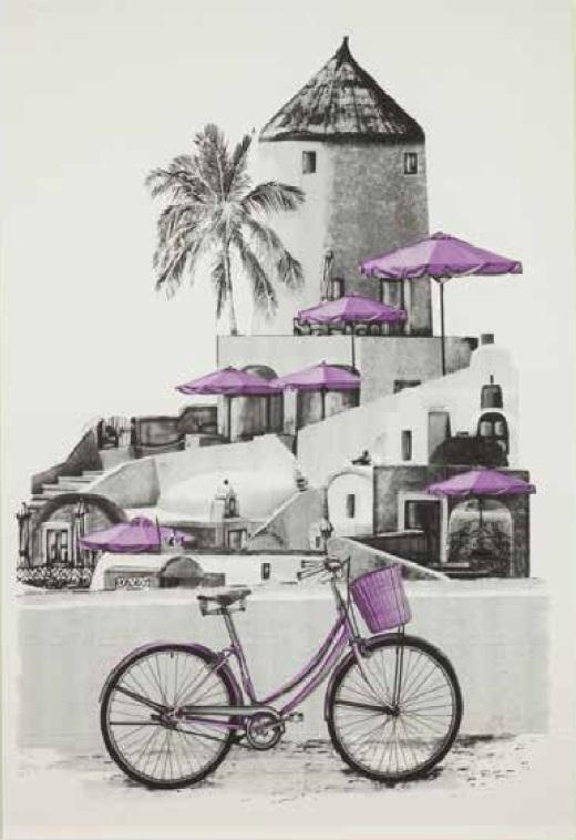 Boutie Bicicleta de EDREXA Morado 150