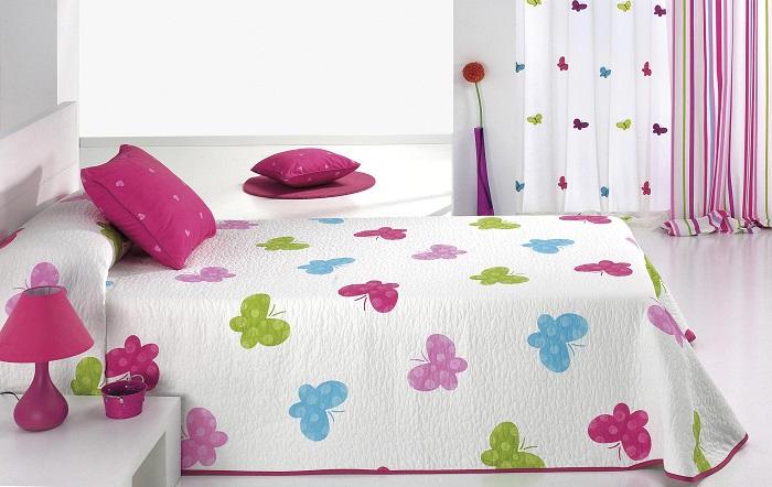 Colcha Infantil Butterpi CH de Reig Marti. Multicolor 105